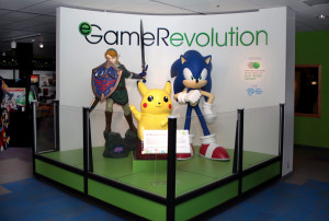 eGameRevolution Exhibit Space 1 -Title Wall